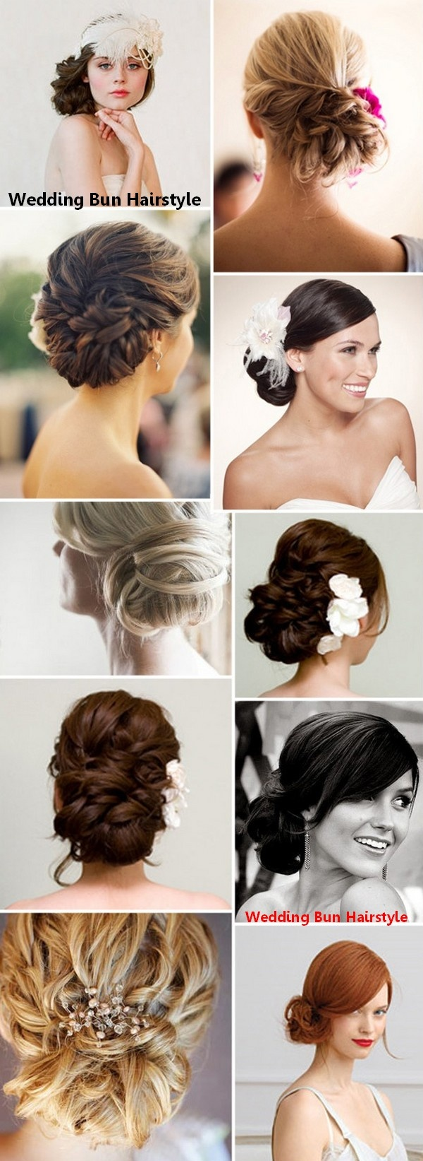 Wedding Bun Hairstyle-- for any formal occasion