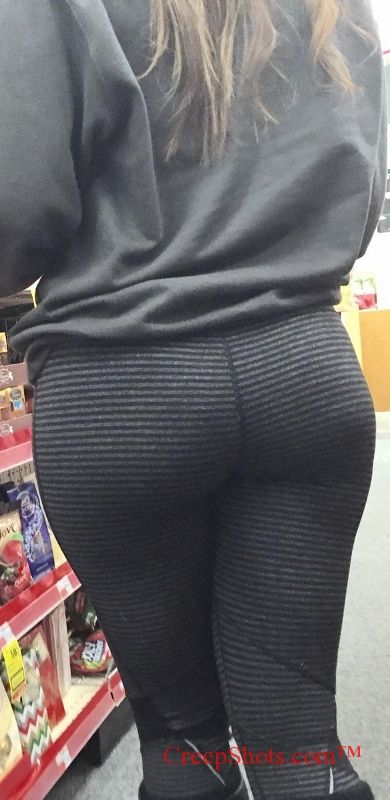 Candid Phat Ass In Yoga Pants Creep Shot Faves