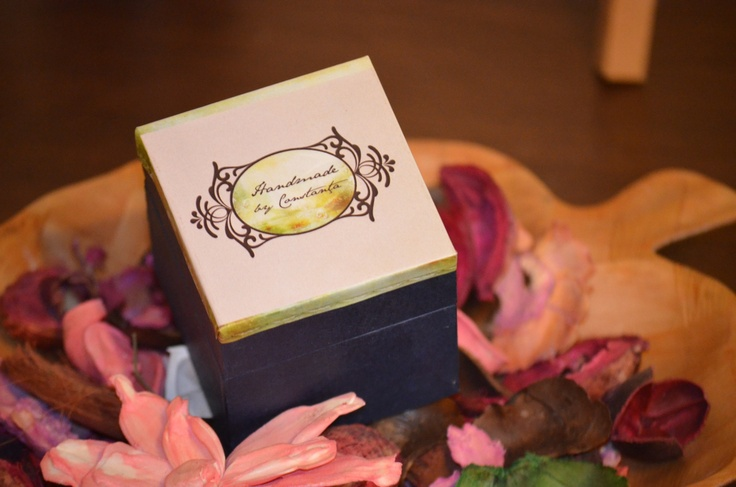 "A lovely box for ""Handmade by Constanta"" gifts!"