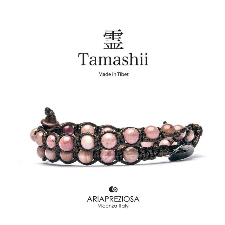 Tamashii - Bracciale Lungo Tradizionale Tibetano 2 giri Bamboo Leaf (Radice di Bamboo fossile)