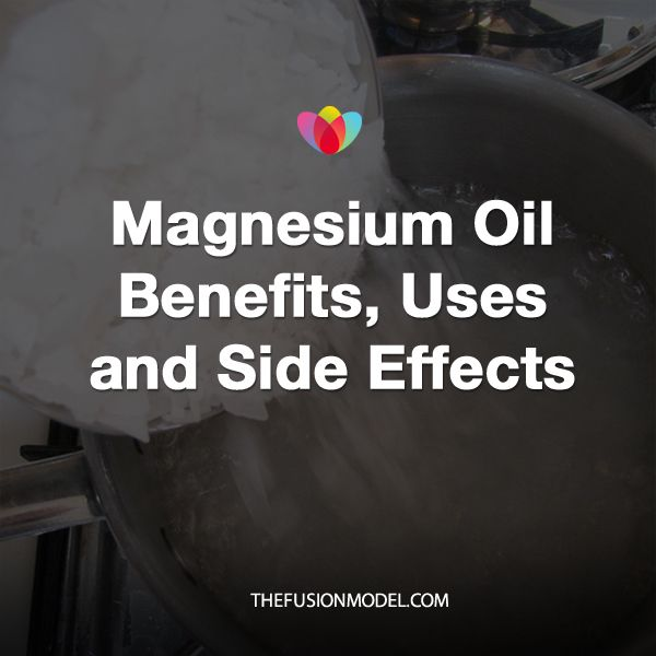 Magnesium Oil Benefits, Uses and Side Effects