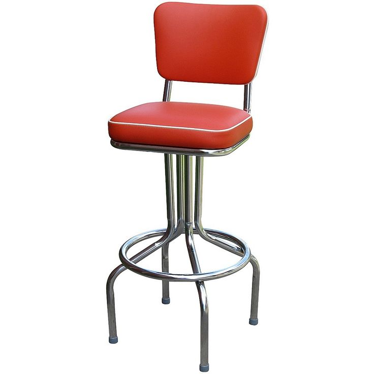 Bar Stool - 1640 | Retro Bar Stools | Retro Stools | Retro Swivel Stool  sc 1 st  Pinterest & 95 best American Made Bar Stools images on Pinterest | Swivel bar ... islam-shia.org