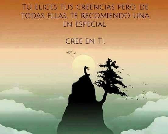 CREE EN TI..!!
