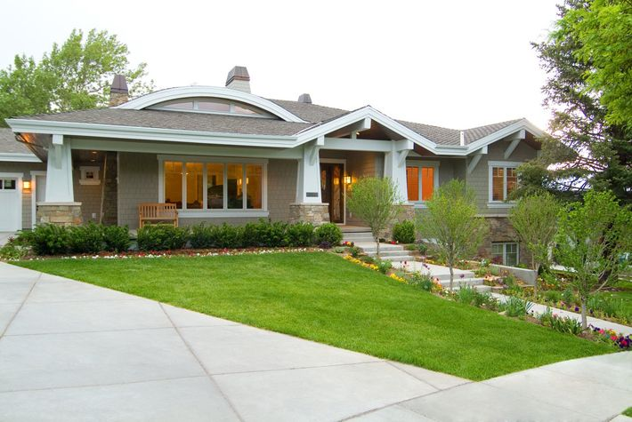 Hyrum McKay Bates Craftsman style home in Bountiful.