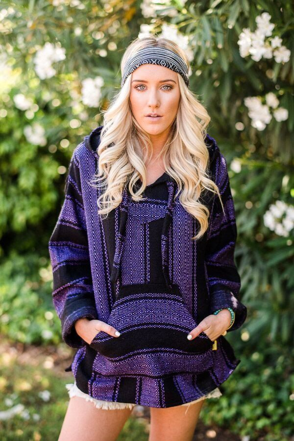 Fleece lined this cozy Baja hoodie will keep you wrapped in warmth while being…