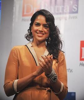 Sameera Reddy at Dr. Batra's Book Launch. | Bollywood Cleavage