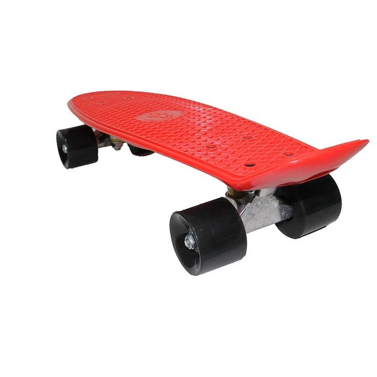 "22"" Retro Fish Skateboard - Red - Fish Brand Skateboards - Toys""R""Us"