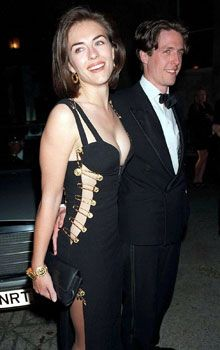 "The infamous Versace dress worn by Elizabeth Hurley In 1994 dubbed ""That Dress""...Oscars"