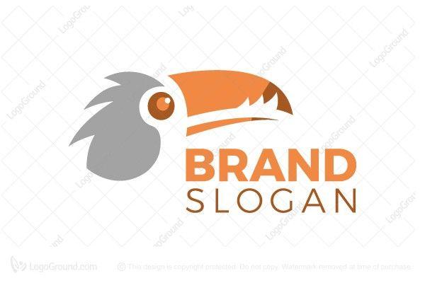 Logo for sale: Toucan Logo