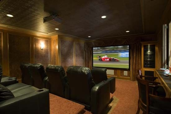 Cool Idea For A Theater Room For The Home Pinterest Ideas