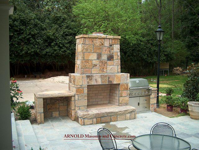 Atlanta Stone Fireplace Chimney #Atlanta_stone_fireplace_chimney