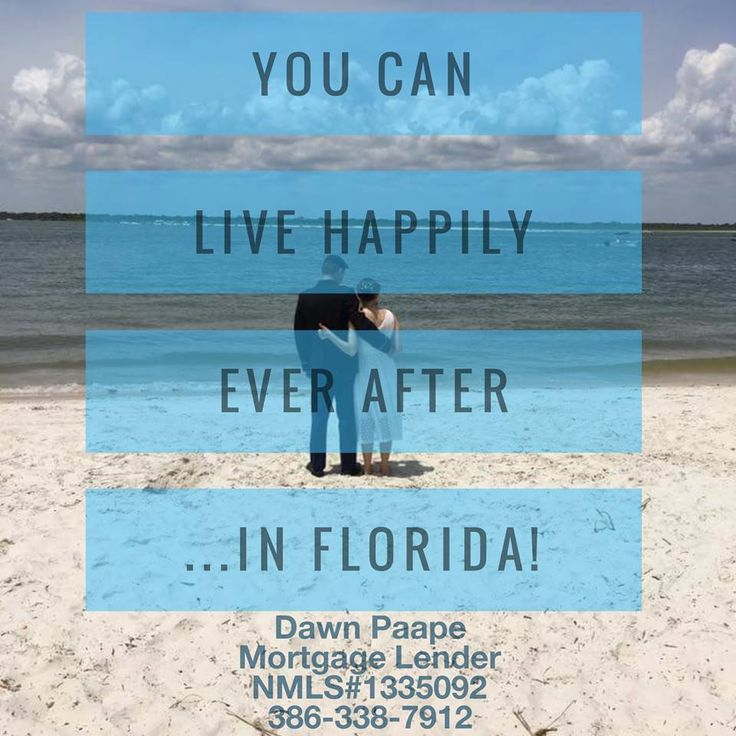 Move to Florida ✔ Fall in love ✔ Get married on the beach ✔ Live happily ever after ✔ Call or text me 24/7/365 for your mortgage pre-approval or any questions you may have, 386-338-7912; I'm here to help! #mortgage #loans #realty #realtor #realestate #floridarealestate #home #firsttimebuyers #veterans #investment #bridetobe #newlyweds #parents #FOMO #justsaying #DisneyWorld #PalmCoast #FlaglerBeach #Orlando #Tampa #Miami #Florida #NewYork #saltlife #boating #surfing #golfing #lovefl