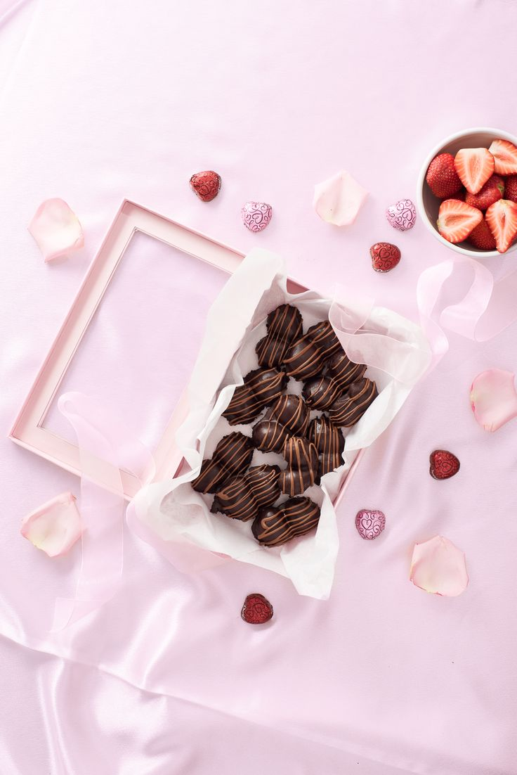 Sweet strawberries + silky smooth DOVE chocolate. Need we say more?
