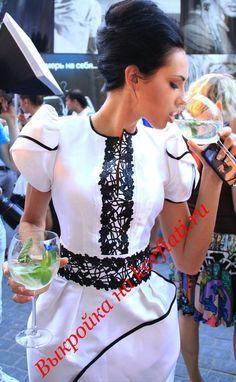 Это платье - просто шедевр! Выкройка платья рукав фонарик - бесплатно. Таких фонариков вы еще не видели! Подробное построение и описание как сшить платье