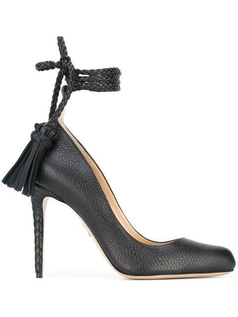 PAUL ANDREW tassel detail pumps. #paulandrew #shoes #pumps