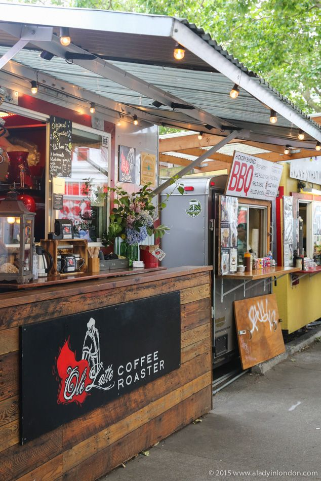 Three days in Portland, Oregon! The Alder Pod in Portland features the largest concentration of food carts in America, and has flavors from all over the world.