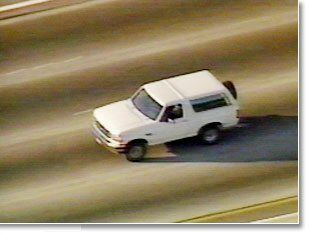 O.J. Simpson car chase