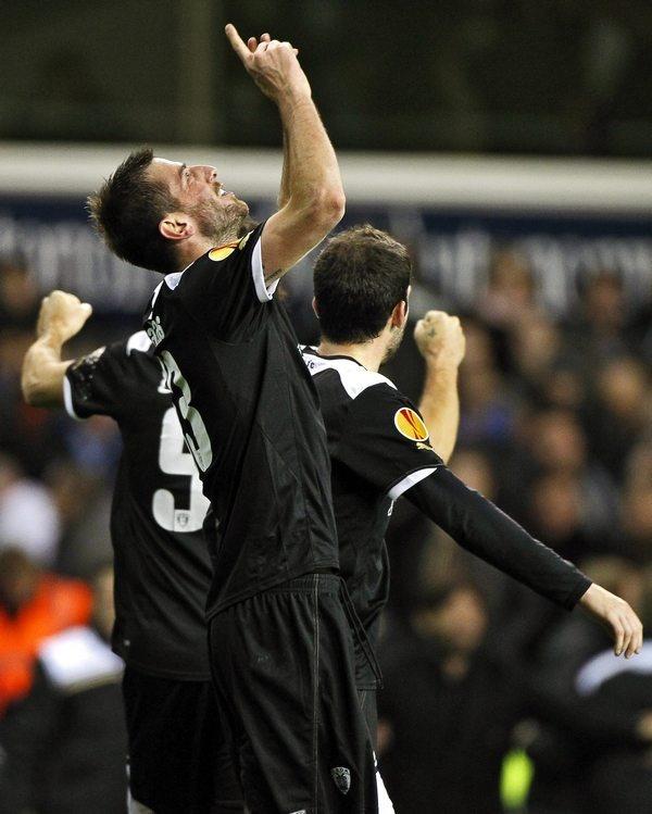 Tottenham vs PAOK 1-2, Stelios Malezas