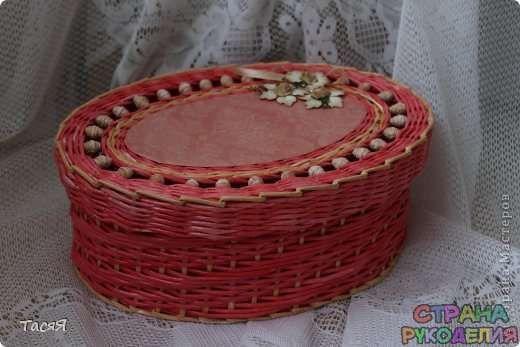Уроки по плетению - Плетение из газет - Рукоделие - Страна рукоделия