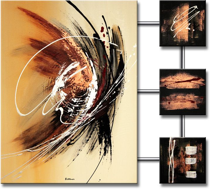 Abstracte schilderijen � Schilderij Spectacular Abstraction IV