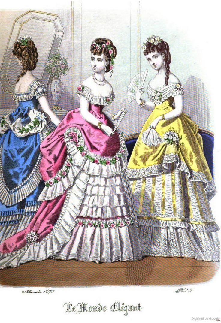 Le Monde Elégant 1870 November