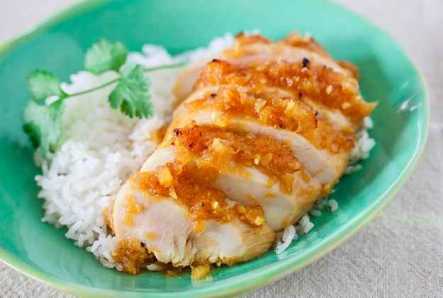 Chicken With Five-Ingredient Teriyaki Sauce   23 Boneless Chicken Breast Recipes That Are Actually Delicious