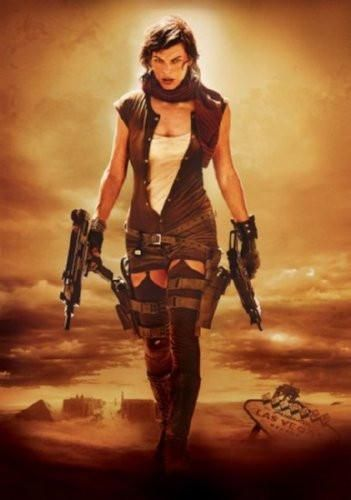 Resident Evil Extinction Movie poster Metal Sign Wall Art 8in x 12in
