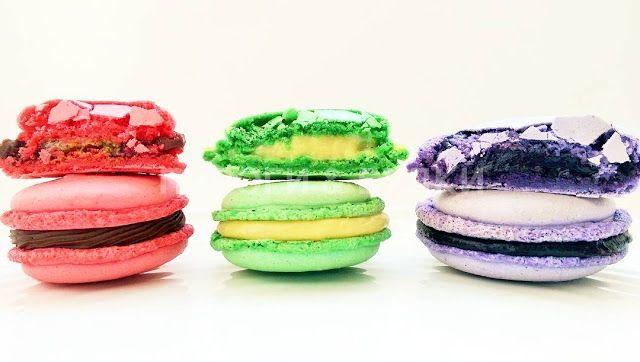 ПИРОГИ & БУЛКИ: Macarons (ассорти) / от 65 руб./шт. (набор от 10 ш...