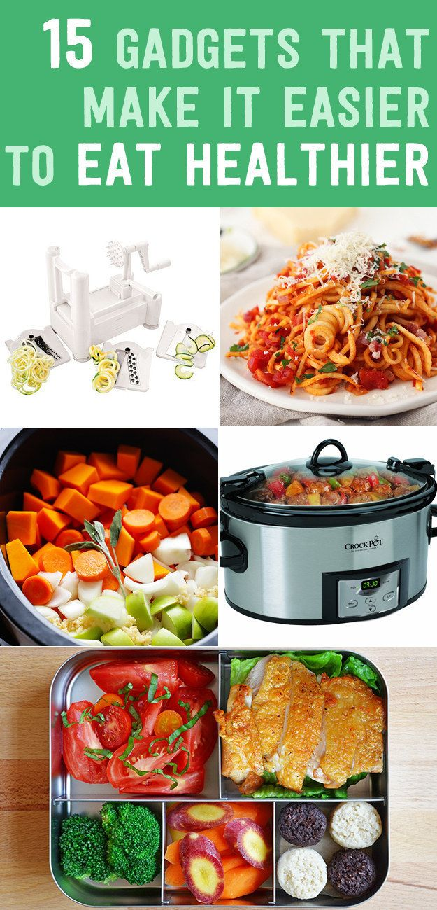 Gadgets To Eating Healthier