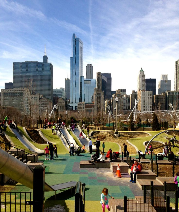Maggie Daley Park - [Interactive Park] - An Extension to Millennium Park