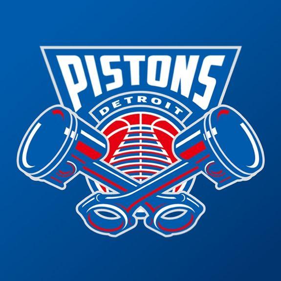 Detroit Pistons Logo Concept