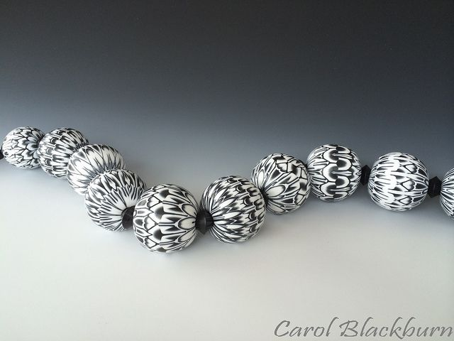 large hollow beads each in a different pattern flickr photo sharing