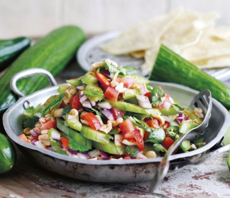 Indian-style cucumber salad