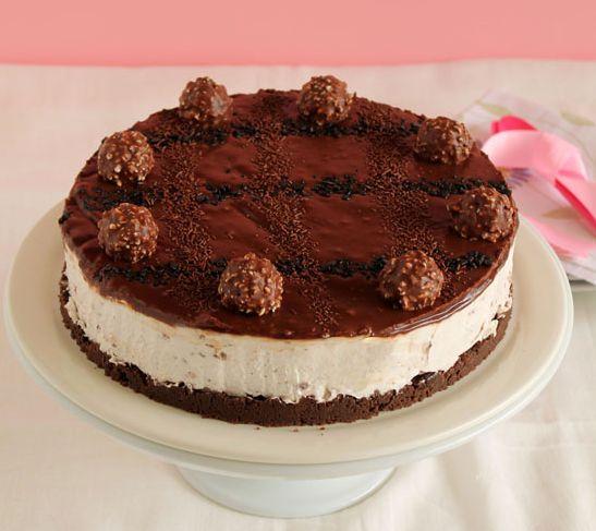 Cheesecake+με+Ferrero+rocher,+Oreo+και+nutella