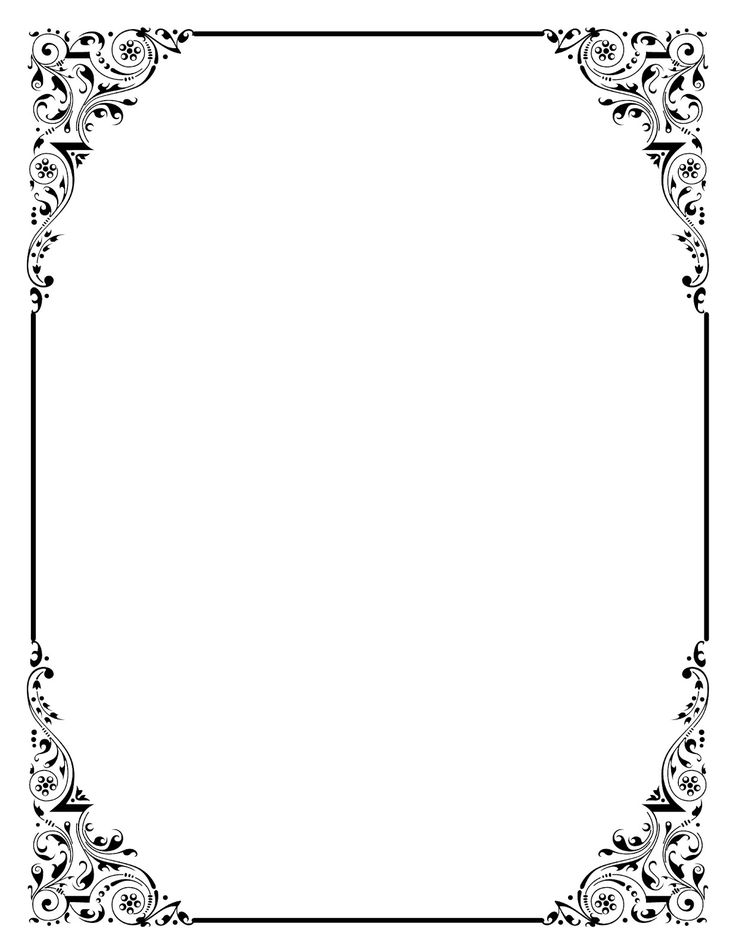 You Can Use This Beautiful Vintage Clip Art Frames In Your Wedding