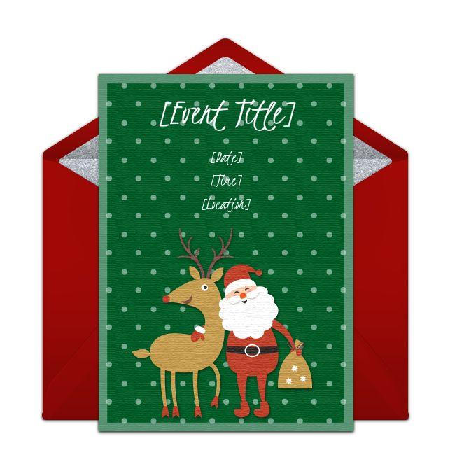 Best 25+ Secret santa invitation ideas on Pinterest Secret santa - free xmas invitations