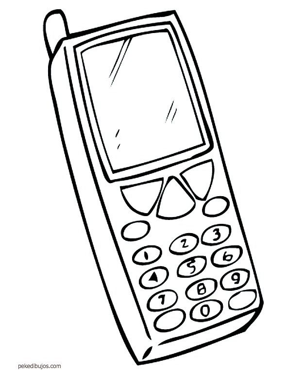 Movil Para Colorear Coloring Pages Colorful Pictures Coloring