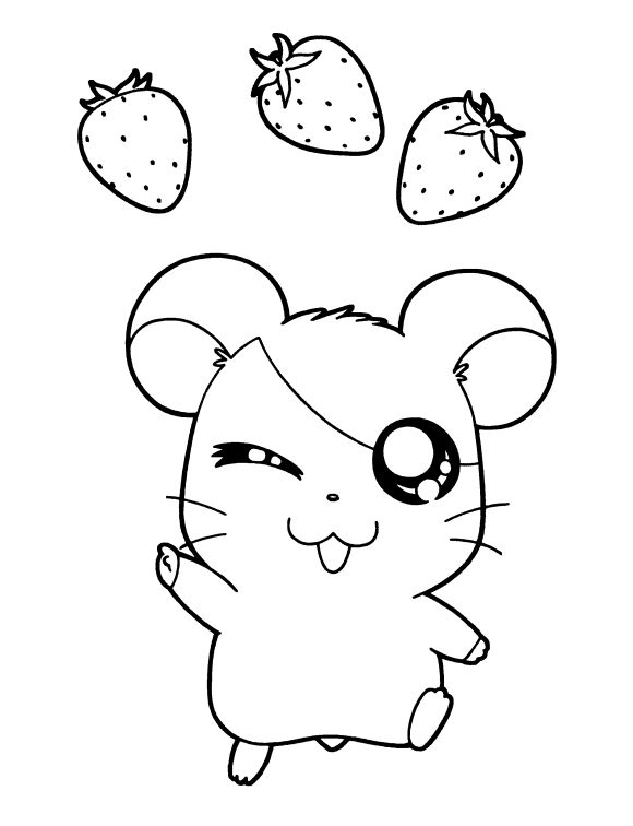 71 best Color Cute Kawaii easy for Coloring - All Ages images on ...
