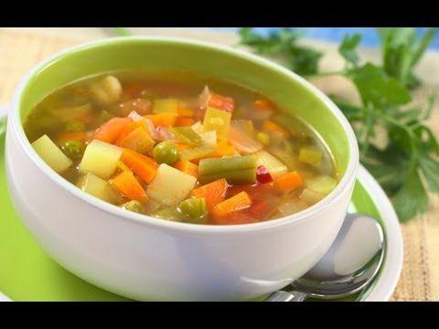 ▶ Como hacer la Dieta de la Sopa Milagrosa - YouTube