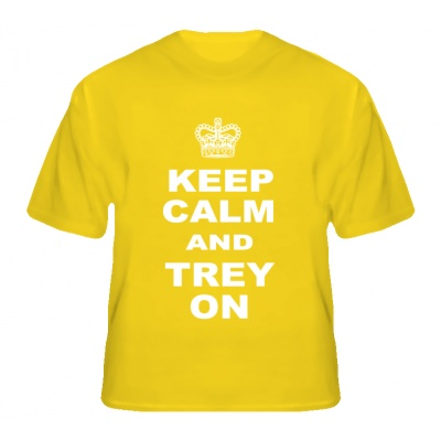 Keep Calm Trey On Trey Burke Michigan Basketball T Shirt