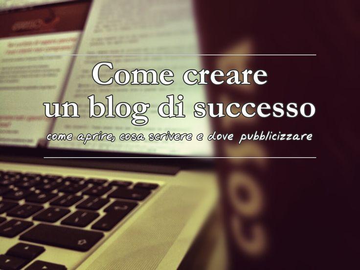 Scopri come creare un blog di successo e cosa fare prima di aprire un sito in modo gratuito. Clicca ed incomincia a leggere.