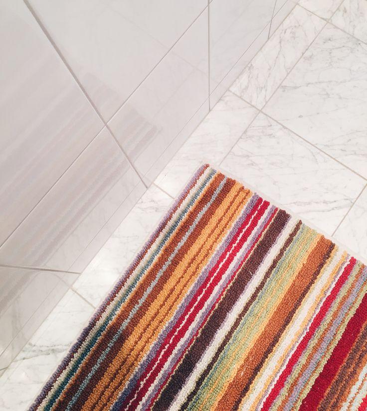Bathroom mat by Missoni home.