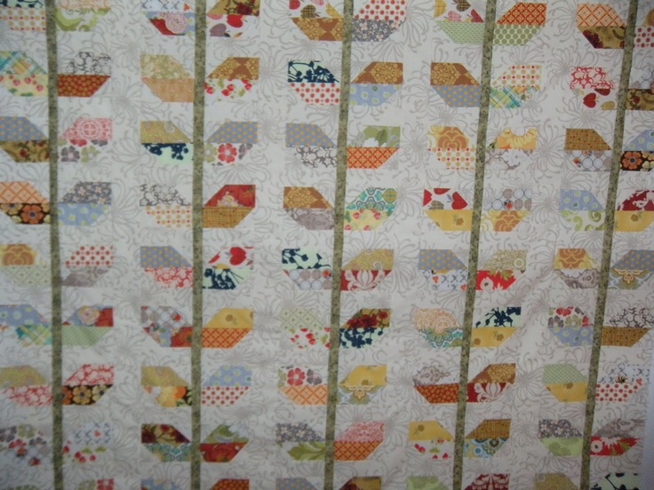 Stems Quilt Pattern Fig Tree : 32 best ----A- - SCRAPPY QUILTS images on Pinterest