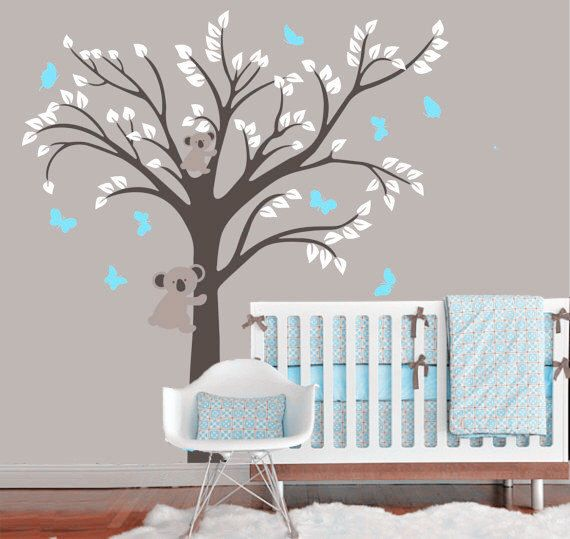 tree with bear decal,bears Vinyl Wall Decal, butterfly, Cubs,baby boys wall Decals, nursery tree animal Wall by emmococo on Etsy https://www.etsy.com/uk/listing/276076020/tree-with-bear-decalbears-vinyl-wall