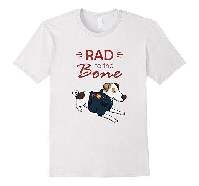Amazon.com: Parson Jack Russell T-Shirt   Rad to the Bone: Clothing