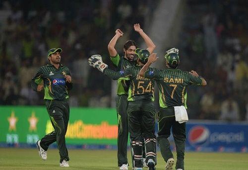 Pakistan won first one day international against Zimbabwe by 41 runs at Lahore. Man of the Match Shoaib Malik scored 112 runs in 76 balls to lead Pakistan.