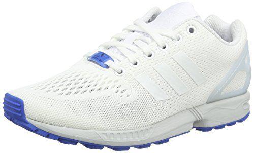 adidas ZX Flux, Herren Hallenschuhe, Weiß (Ftwr White/Ftwr White/Clear Grey), EU 44 2/3 - http://on-line-kaufen.de/adidas/44-2-3-eu-adidas-zx-flux-herren-hallenschuhe