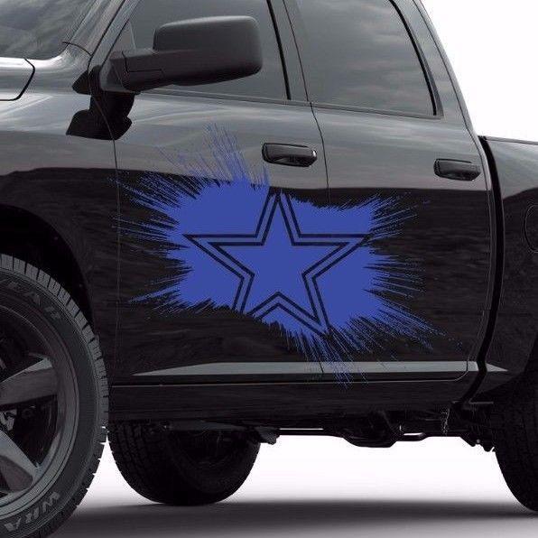 Dallas Cowboys Star NFL Car side vinyl sticker, car decal, car sticker tr1897