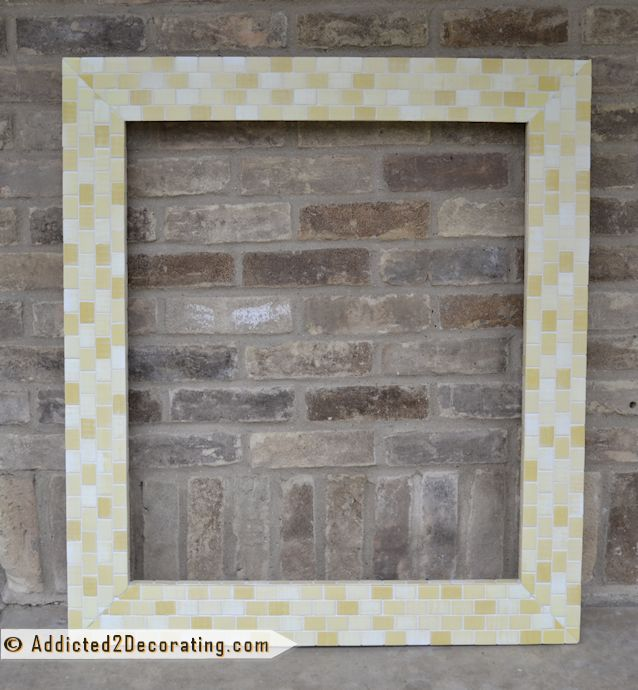 1000+ Ideas About Tile Mirror Frames On Pinterest