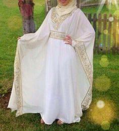 white Abaya - Google Search
